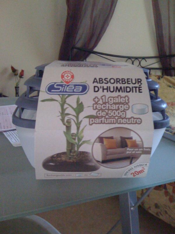 Absorbeur d 39 humidit foxter neutre 1 galet 1 recharge tous les prod - Absorbeur humidite electrique ...