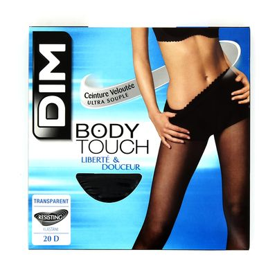 Collant voile Body Touch DIM, taille 1, noir
