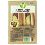 Pouce Hot dog x2 - 210g