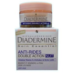 Soin anti-rides double action nuit, anti-age, le pot de 50ml