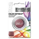 Gemey Maybelline Eye Studio Color Tattoo 24H Ombre à Paupières 70 Metallic Pomegranate