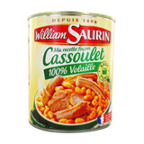 cassoulet 100% volaille william saurin 840g