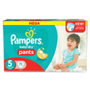 Pampers baby dry pants mega x72 taille 5