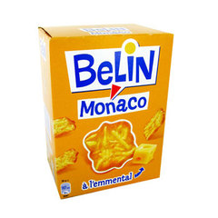 Belin crackers monaco emmental 105g