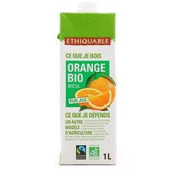 Pur jus d'orange Bio Brésil