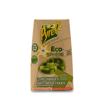 eco sphere recharges anti moustiques et moustiques tigres 3 recharges sans odeur contient. Black Bedroom Furniture Sets. Home Design Ideas