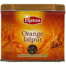 the jaipur a l 39 orange lipton 200g tous les produits th s prixing. Black Bedroom Furniture Sets. Home Design Ideas