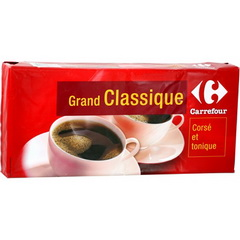 Cafe moulu robusta Grand classique