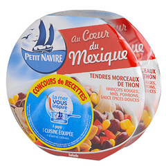 Salade Petit Navire Mexicaine 2x220g