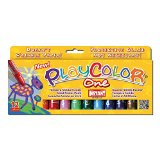 Instant - Playcolor - Gouache Solide en stick - 12 couleurs - 10 g