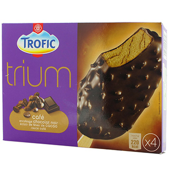 Glace Trofic Trium Cafe x4 400ml