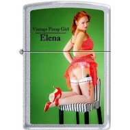 Zippo 2.002.954 Collection 2012 - Limited Edition 001/500 - 500/500 Cigarette Lighter Vintage Pin Up Girl Elena...