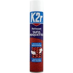 k2r nettoyant tapis moquette l 39 aerosol de 500 ml tous les produits entretien de la maison. Black Bedroom Furniture Sets. Home Design Ideas