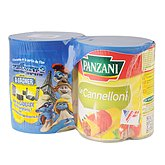 Cannelloni Panzani pur boeuf Huile d'olive 2x800g
