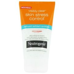 Nettoyant-exfoliant Stress Control Visibly Clear NEUTROGENA, 150ml