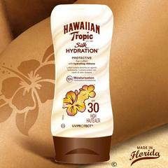 Hawaiian Tropic Silk Hydration - Lotion solaire Protective SPF30 le flacon de 180 ml