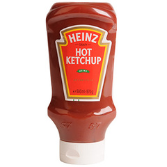 Ketchup hot Heinz Top down 570g
