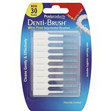 Denti-brush Lot de 2 paquets de 30 brosses interdentaires sans fil