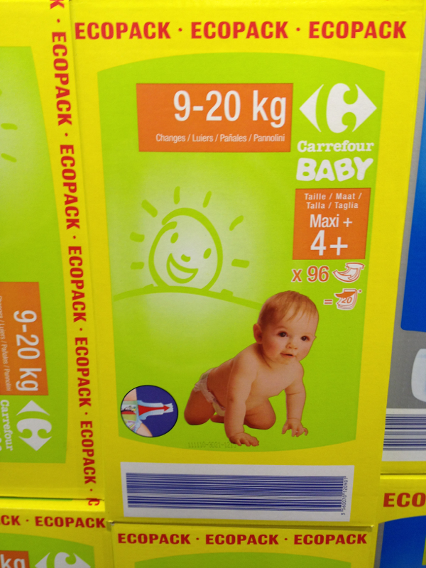 Changes bebe Maxi + , taille 4 + : 9-20 kg