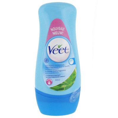 Creme depilatoire sous la douche pour peaux sensibles veet - Veet creme depilatoire sous la douche ...