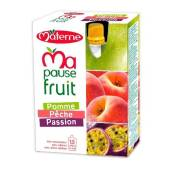 MATERNE MA PAUSE FRUIT GOURDE POMME PECHE PASSION 4X120G