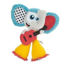 Peluche musicale elephant
