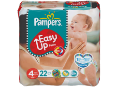 Pampers easy up 8-15kg paquet T4 maxi x22