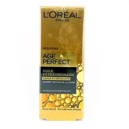 Soin Specifique Age Perfect Huile Extraordinaire Visage & Decollete
