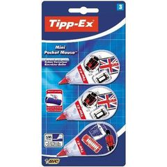 Bic, Ruban correcteur Tipp ex mini pocket mouse, le lot