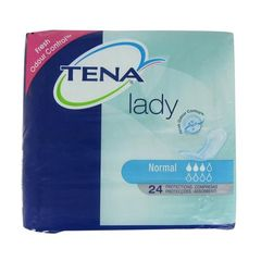 Serviette incontinence protection Lady normal TENA, sachet de 24