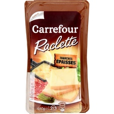 Fromage à raclette Carrefour
