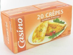Crepes jambon/fromage