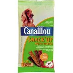 Canaillou, Snack'up multi-viandes, adulte, la boite de 12 - 120 g