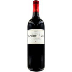 DOURTHE N°1 BORDEAUX ROUGE 75 CL