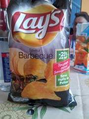 Chips lays barbecue 145 g