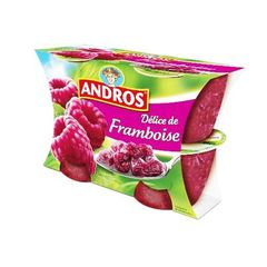Compote Délice de framboise Andros