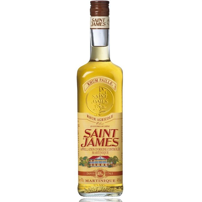 Rhum Paille SAINT JAMES, 40°, 70cl
