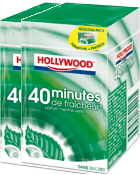 Chewing Gum Menthe Verte - 40 Minutes