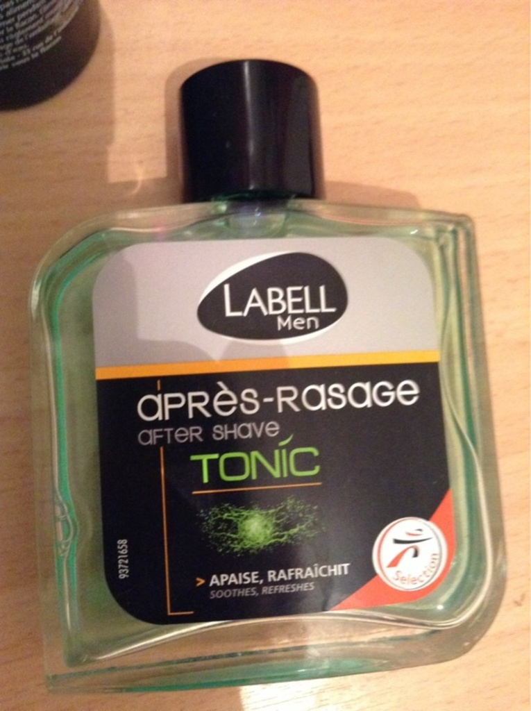 Labell, Men - Apres-rasage, Tonic, le flacon de 100ml