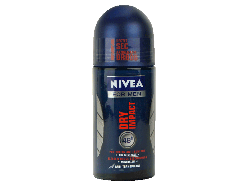 Nivea Deo - 816100548819 - Bille Dry Impact - 50 ml - Lot de 2