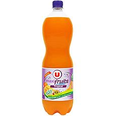 U Soda tropical Maxi Fruits & Bulles U, 1,5l