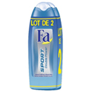 Fa douche double power cool fresh 2x250ml