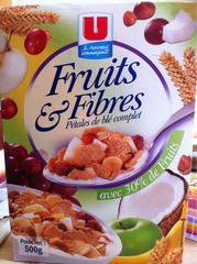 Cereales aux fruits et fibres U, 500g