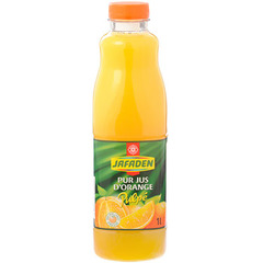 Jus d'orange Jafaden Avec pulpe Pur 1l