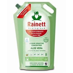 Rainett lessive sensitive concentree aloe vera 1.95l recharge