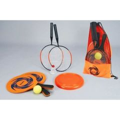 Set multi-sport- Beach ball + Badminton + Frisbee