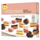 Poppies petits fours 800G 55 PCS
