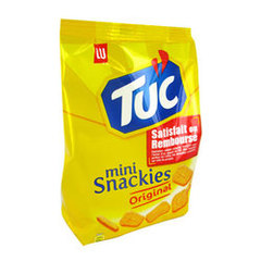LU, Tuc - Mini snackies Original, le sachet de 100 g