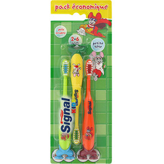 SIGNAL - Brosse a dent Tripack 2/6ans
