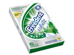 Chewing gums Freedent white Menthe verte 70g